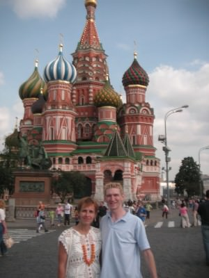 Moscow Russia St Basil's Cathedral Red Square 2007