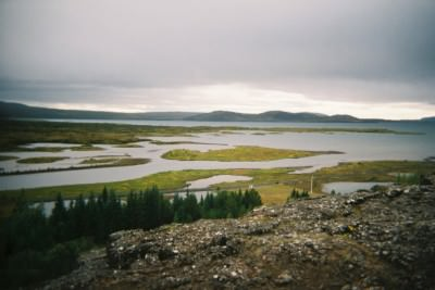 The hike at Pingvellir, Iceland