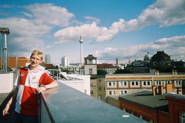 Backpacking in Berlin, 2007