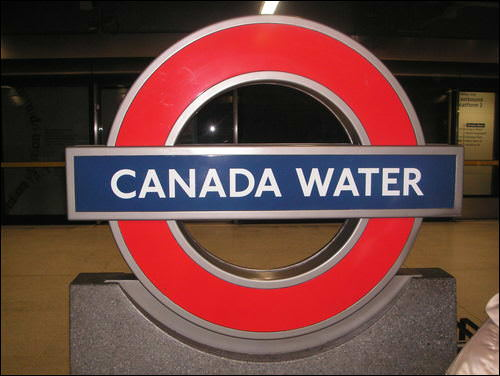 Canada Water pub crawl of London
