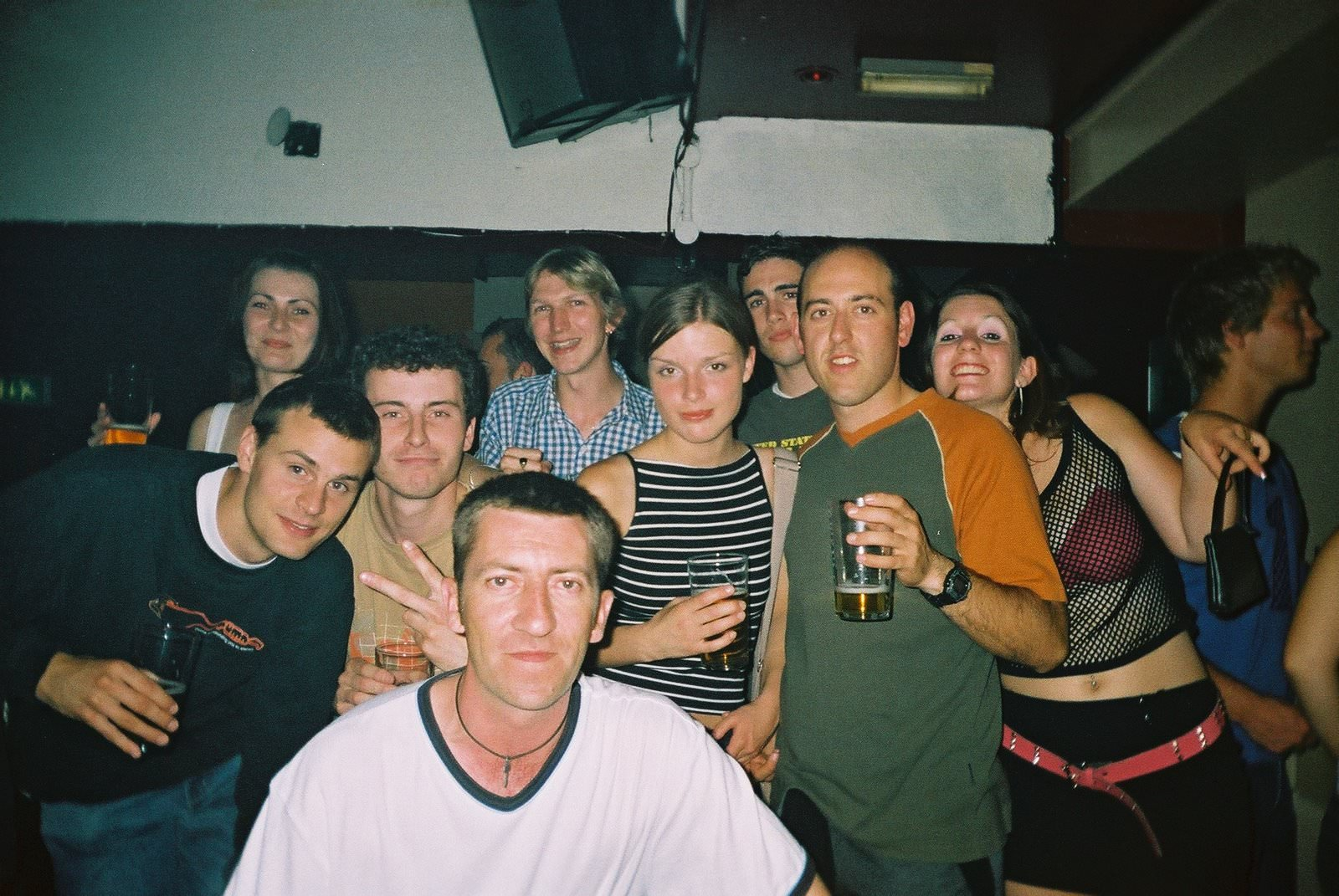 Jonny Blair in Berlins Club in Bournemouth