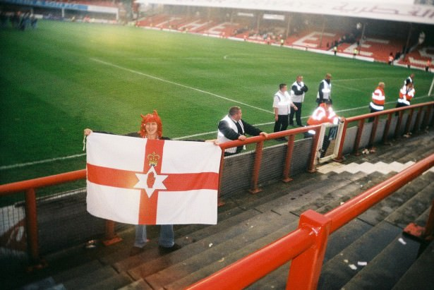 Jonny Blair in Griffin Park