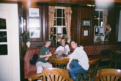 Jody Casey Neil Macey and Jonny Blair in Poole in 2004