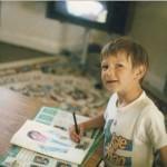 drawing maradona july 1986 devon