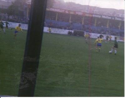 Bangor v Glentoran October 1990 Clandeboye Park