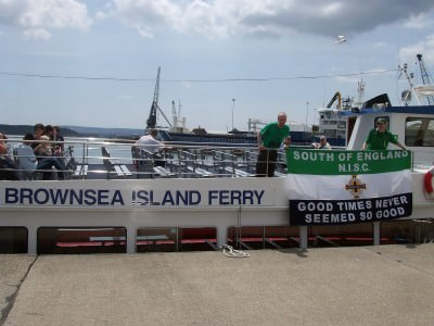 Getting the Brownsea Island ferry