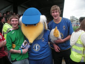 Don't Stop Living a lifestyle of travel watching AFC Wimbledon