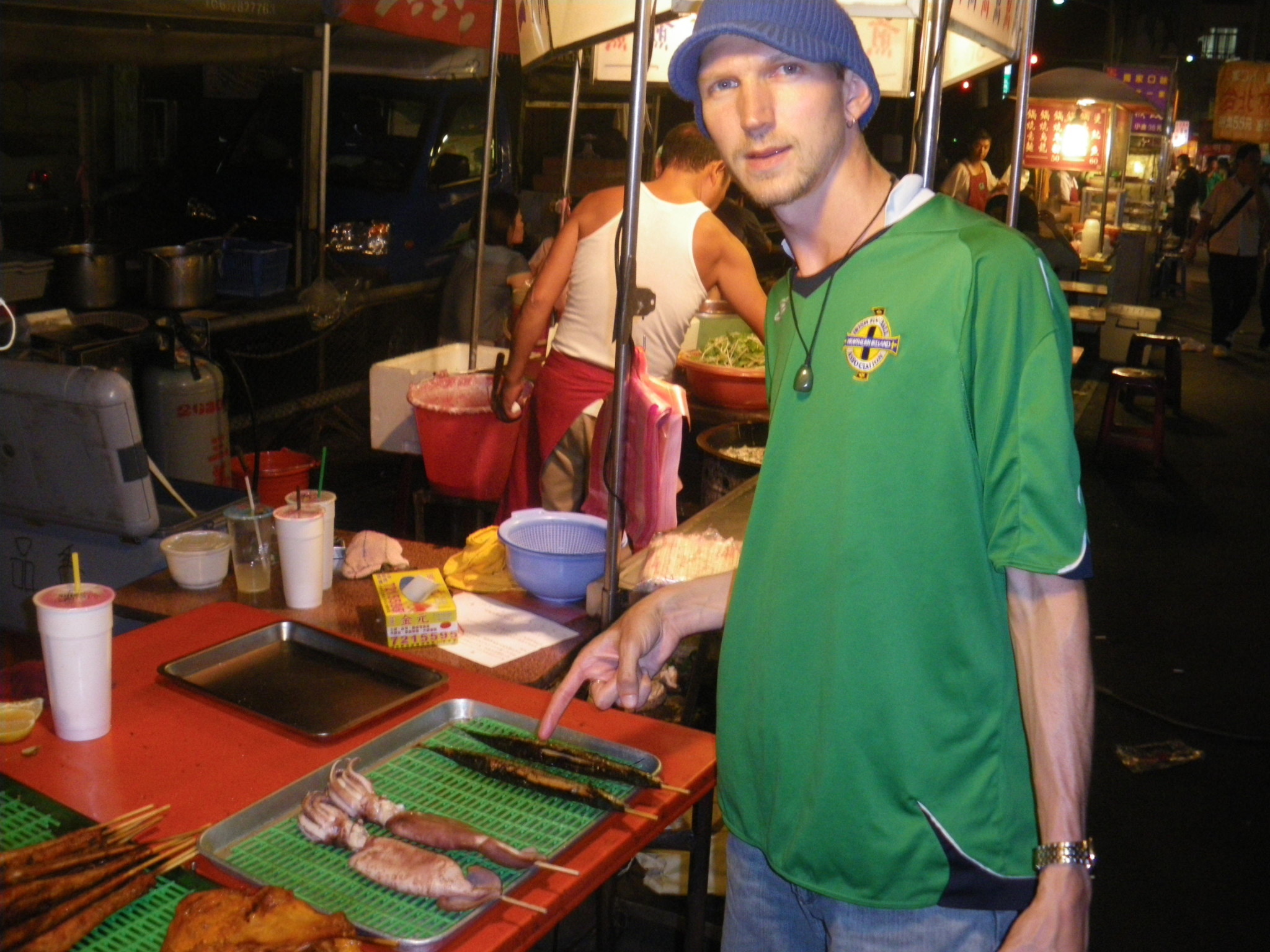 jonny blair in shinying taiwan