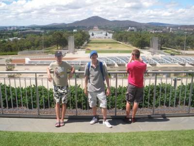 Jonny Blair in Canberra Australian capital