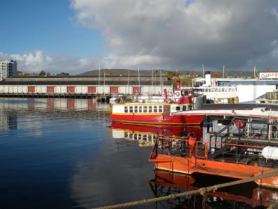 Hobart Harbour, Tasmania, Australia.