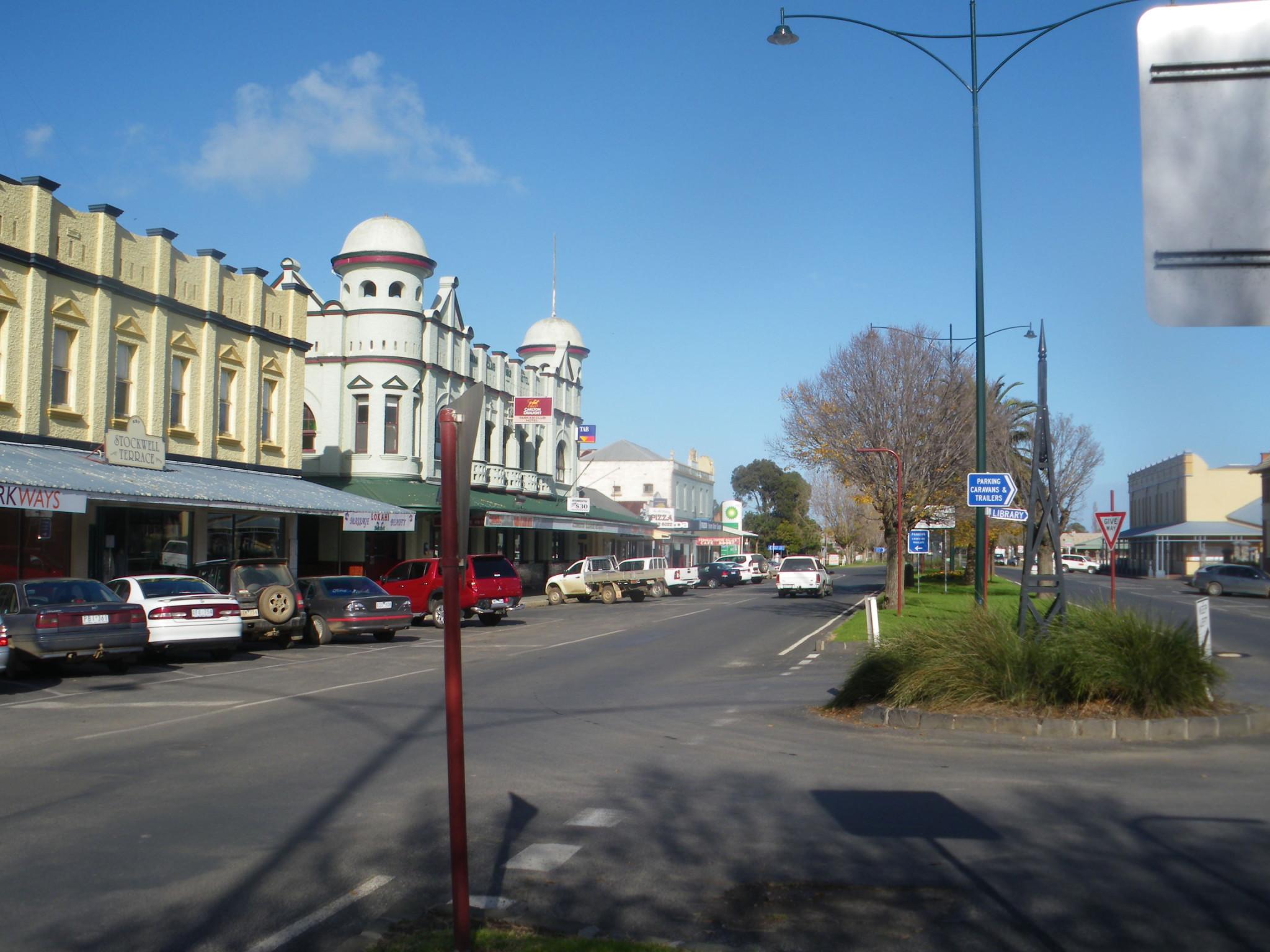 Backpacking in Yarram Australia