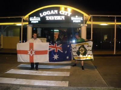With Owen at Bogan Logan City Tavern