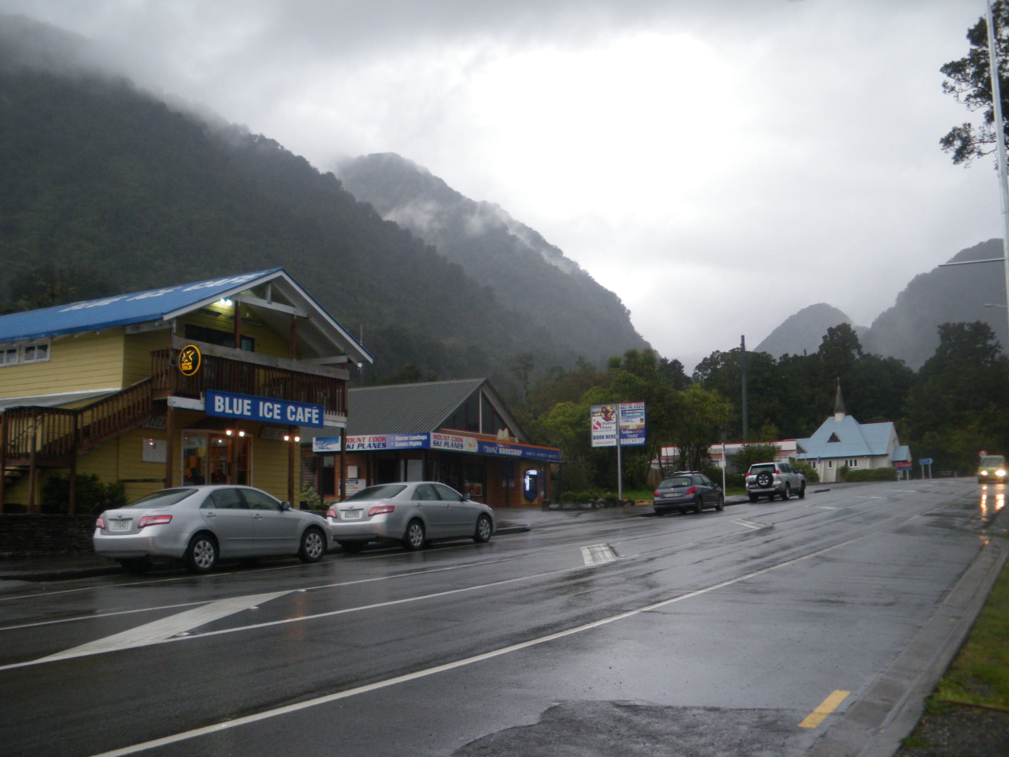 Franz Josef Township - New Zealand