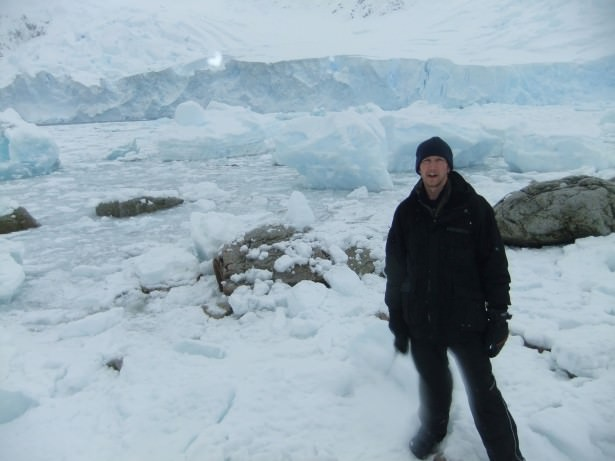 All alone in the Antarctica mainland - a wonderland of snow at Neko Harbour