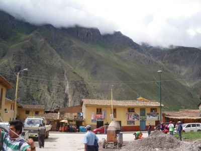 Jonny Blair in Ollantaytambo Inca Trail a lifestyle of travel