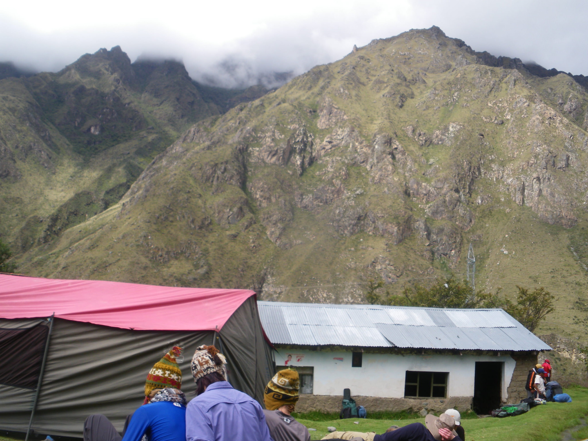 Jonny Blair on the Inca Trail to Patabamba and Miskay