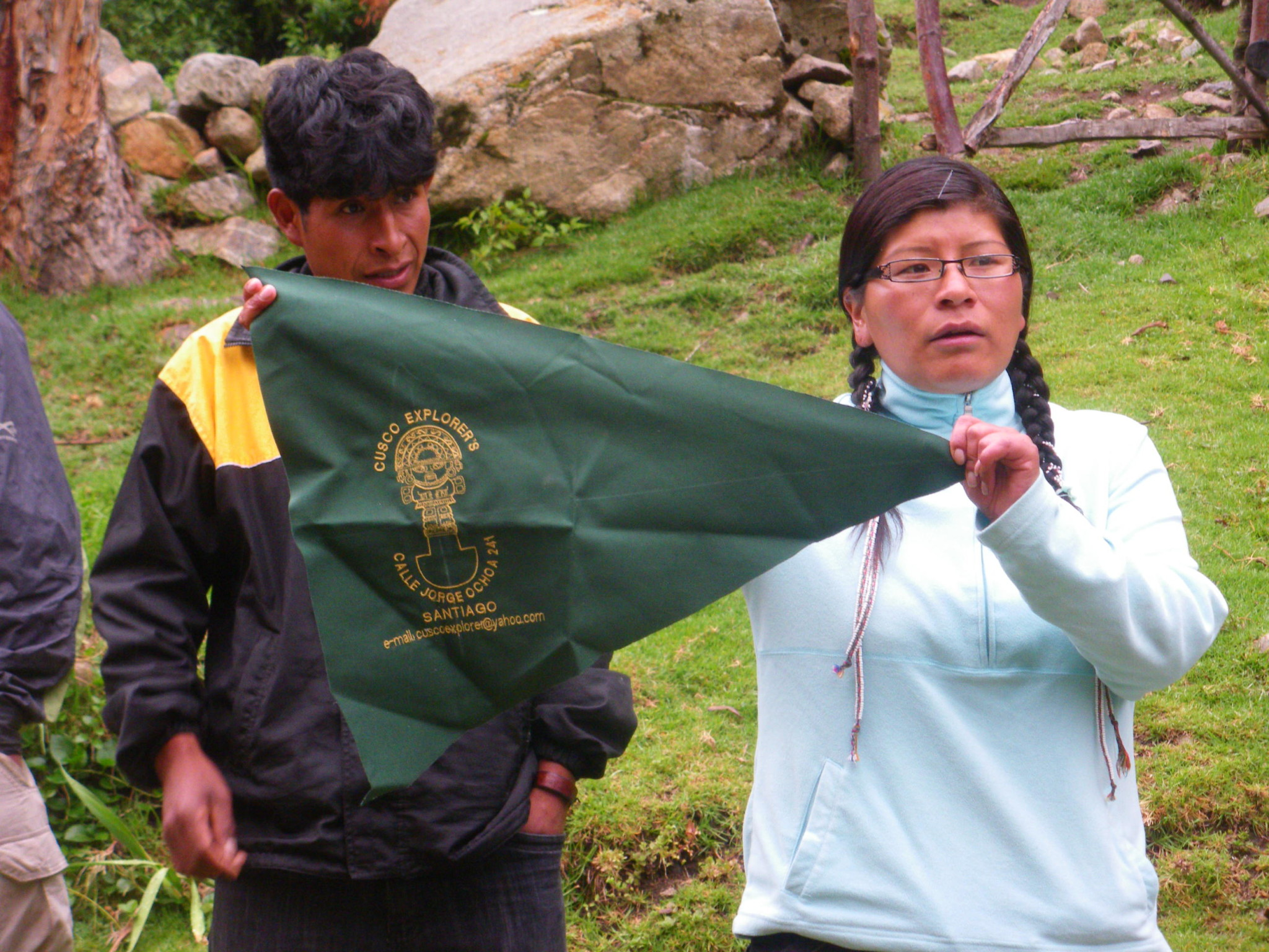 Jonny Blair a lifestyle of travel on the Inca Trail to Wayllabamba