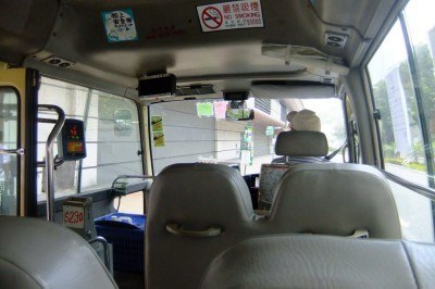 On a minibus to the New territories