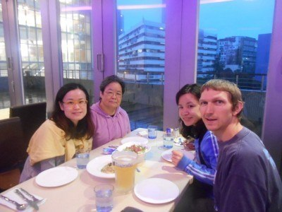 Dinner in the Grove Cafe in Yau Tong