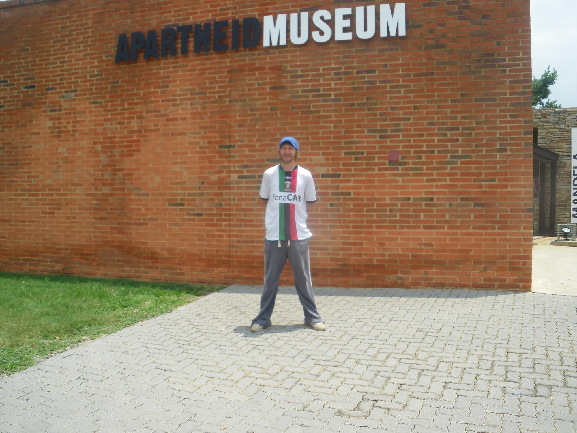 Visiting the Apartheid Museum, Johannesburg, South Africa