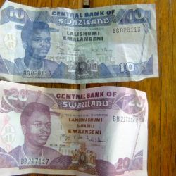 Swaziland money Llangeli