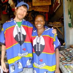 Backpacking in Swaziland: Touring Ezulwini Market