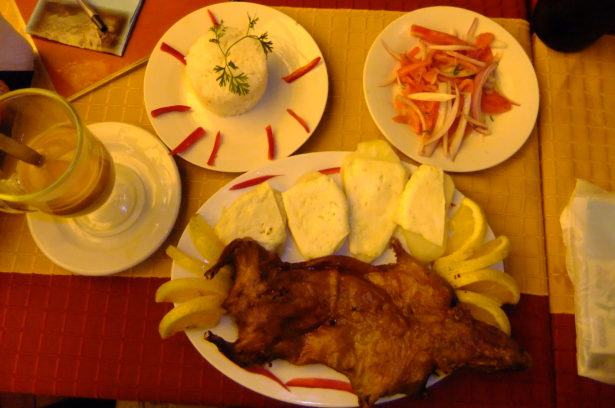 Friday's Featured Food: Cuy al Horno (Roasted Guinea Pig)