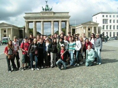 Group tour in Berlin