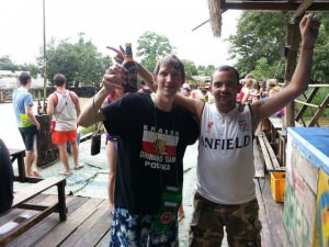 How not to go tubing in Vang Vieng - Jonny Blair's a lifestyle of travel