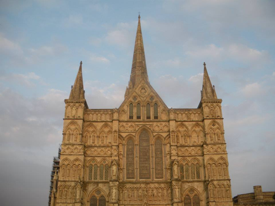 Jonny Blair of Dont Stop Living recommends the Salisbury Cathedral in Wiltshire, England