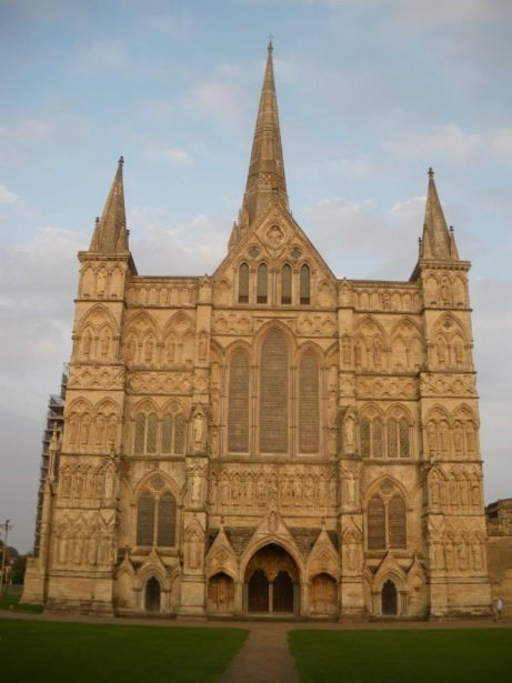 Salisbury Cathedral in Wiltshire on Dont Stop Living