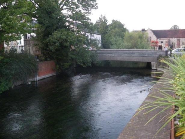 A river in Salisbury England