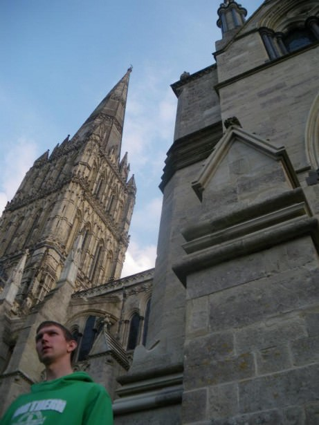 a lifestyle of travel marvelling at the amazing Salisbury Cathedral