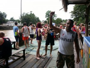 Jonny Blair of Don't Stop Living and the dangers of tubing in Vang Vieng.