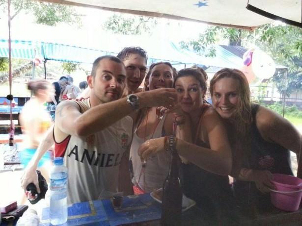 Jonny Blair tells you how not to go tubing in Vang Vieng Laos