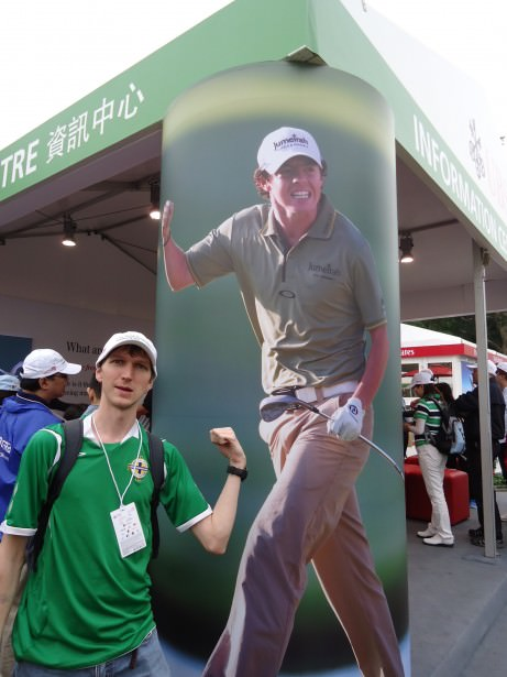 Jonny Blair tries to hunt down Rory McIlroy in Hong Kong - top 10 best northern irish travel blogs