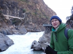 tiger leaping gorge close up