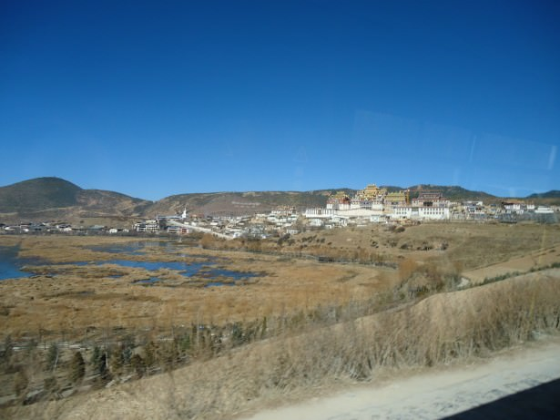 Don't Stop Living at the amazing Ganden Sumtseling Gompa