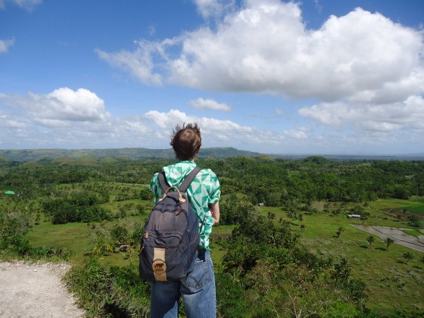 Backapcking at Chocolate Hills