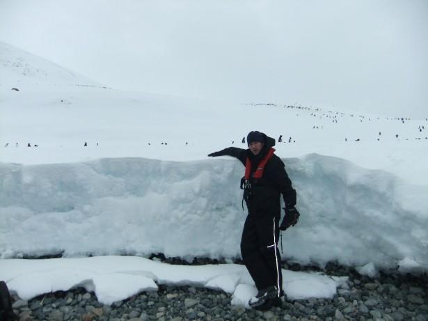 backpacking in antarctica