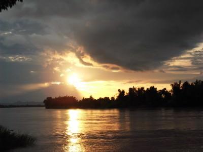 don det 4,000 islands Laos sunset