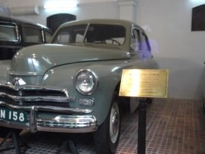Ho Chi Minh Mausoleum complex has some of his cool cars