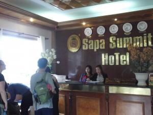 Jonny Blair of Don't Stop Living at the Sapa Summit Hotel in Vietnam