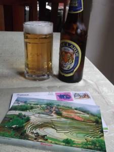 Jonny Blair had a beer in Sapa in Vietnam