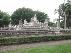 Angkor Wat miniature in Shenzhen China