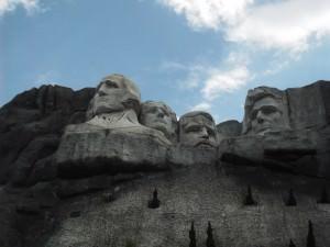 Jonny Blair at the Mount Rushmore miniature in Shenzhen China