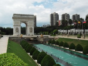 Fake Arc de Trioumph in Shenzhen China