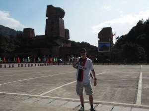 Jonny Blair at Yao Tang in China