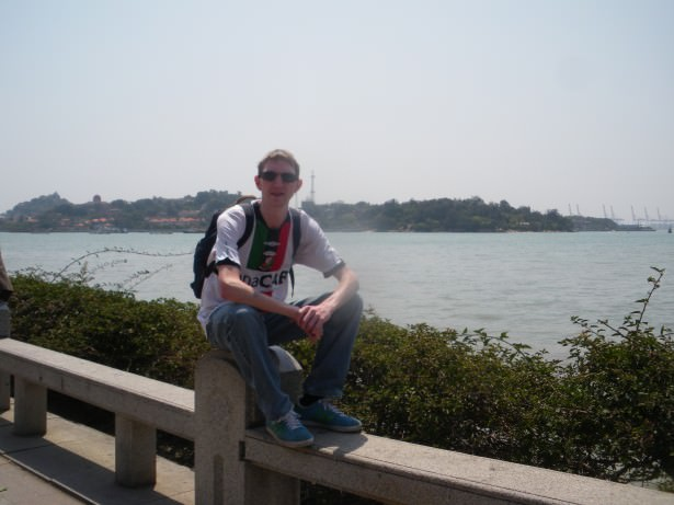 Jonny Blair in Xiamen, Fujian, China - living a lifestyle of travel