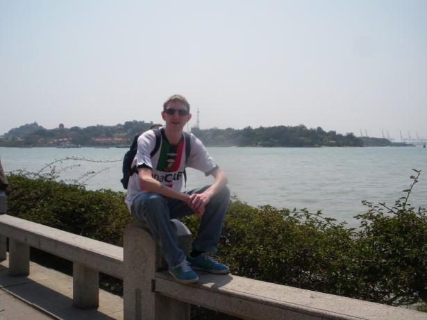 Jonny Blair in Xiamen, Fujian, China - living a lifestyle of travel